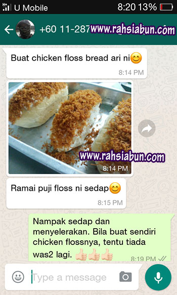 testimoinial chicken floss