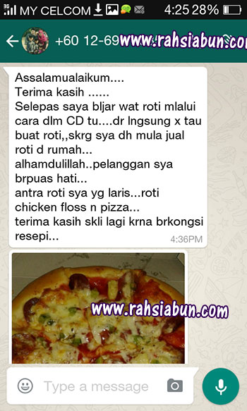 testimoinial kelas pizza